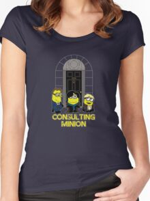 The Worlds only Consulting Minion Women's Fitted Scoop T-Shirt