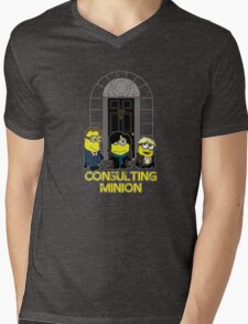 The Worlds only Consulting Minion Mens V-Neck T-Shirt