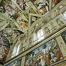 Sistine Chapel by Harry Oldmeadow