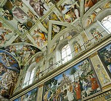 Sistine Chapel by Harry Oldmeadow