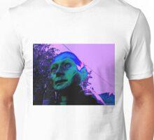 Hugo, Man of a Thousand Faces, Pinkened Unisex T-Shirt