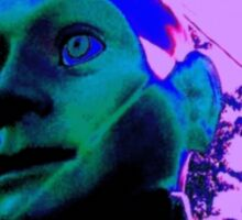 Hugo, Man of a Thousand Faces, Pinkened Sticker