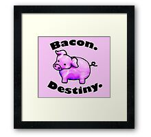 Bacon Destiny Framed Print