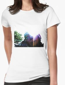 The Glory of Hugo, Man of a Thousand Faces Womens Fitted T-Shirt