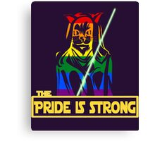 The Pride Is Strong (With Us All) Canvas Print