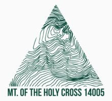 Mount of the Holy Cross Topo by januarybegan