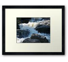 The Glaciers Framed Print