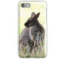 Wallaby in the Grass iPhone Case/Skin
