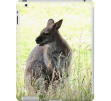 Wallaby in the Grass iPad Case/Skin