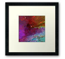 Deep Thoughts - Abstract Framed Print