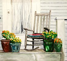Andy's Front Porch by Jim Parker