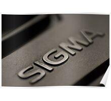 Sigma Lens Cap Macro  Poster