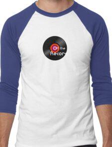 Off The Record Men's Baseball ¾ T-Shirt