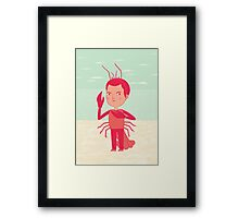 Lobster Boy Framed Print