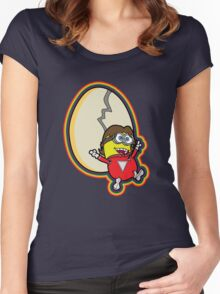 Mork and Minion Women's Fitted Scoop T-Shirt
