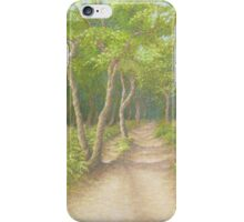 Path Through the Trees, Leith Hill, Surrey iPhone Case/Skin