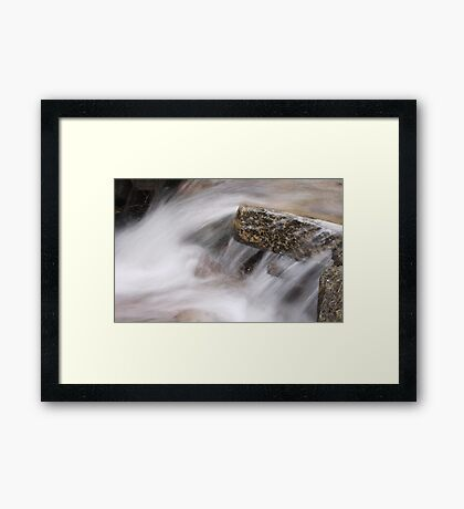 Small Burn Framed Print