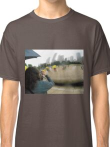 Rainy Day at Cloud Gate Classic T-Shirt