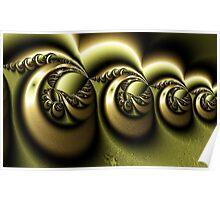 Gold Engraving Poster