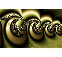 Gold Engraving Photographic Print