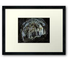 The Dollhouse - Carlsbad Caverns Framed Print