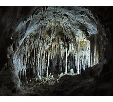 The Dollhouse - Carlsbad Caverns Photographic Print