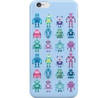 Robot Grid  iPhone Case/Skin
