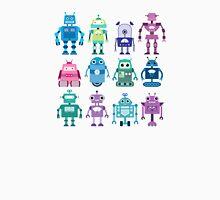 Robot Grid  Unisex T-Shirt