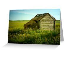 """Shed"" - McIntosh County, North Dakota Greeting Card"