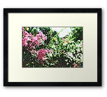 Bunches of Color (Brush Strokes) Framed Print