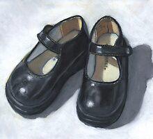 Rebecca's Little Black Shoes by Joyce Geleynse