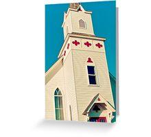 Church of Clubs Greeting Card