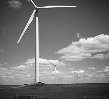 """Wind Energy"" - Edgeley, North Dakota  by jscherr"