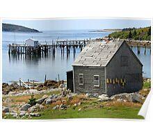 Deep Cove Island Shanty Poster
