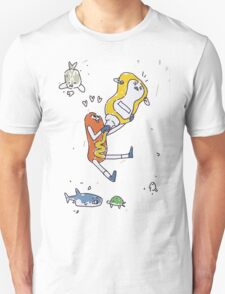 Kate's Poster - The Hotdog and the Mustard Unisex T-Shirt