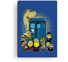 Doc Minion Generation 12 and Chums Canvas Print