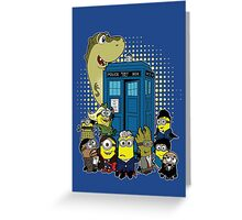 Doc Minion Generation 12 and Chums Greeting Card