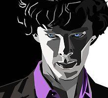 Sherlock Portrait by schwebewesen