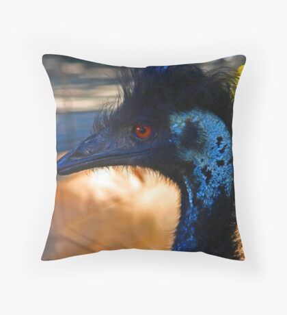 Mad Mullet Throw Pillow