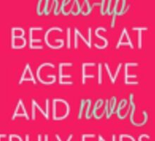 Kate Spade quote  Sticker