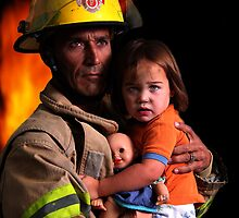 The Fireman by Day and Night  Media Studio
