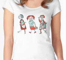 supermarket Women's Fitted Scoop T-Shirt