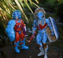 Masters of the Universe Classics - Rokkon & Stondar by GskullWarrior
