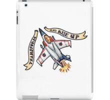Transform and Rise Up iPad Case/Skin