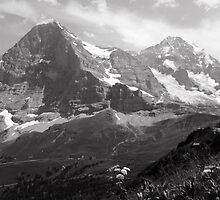 Eiger & Monch by AwayLaughing
