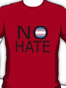 No hate! - Trans* T-Shirt