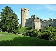 Warwick Castle UK Photographic Print
