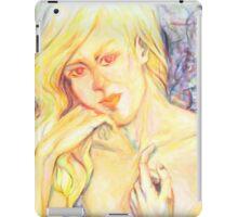 Golden Siren iPad Case/Skin