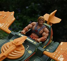 Masters of the Universe Classics - He-Man & the Wind Raider by GskullWarrior