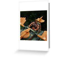 Masters of the Universe Classics - He-Man & the Wind Raider Greeting Card